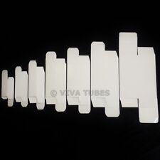 New Empty White Vacuum Tube Boxes - 12AX7 EL84 6L6GC EL34 KT88 300B 6SN7 5Y3