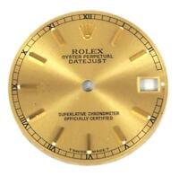 100% Authentic Rolex Dial Genuine Rolex Midi Dial Datejust Rolex Champagne Dial