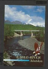Colour Postcard General View Eagle River Alaska unposted