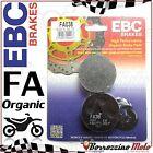 PASTIGLIE FRENO ANTERIORE ORGANICHE EBC FA038 SUZUKI GS E 550 1978 - 1979