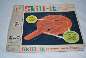 Vintage Milton Bradley Skill-It The Frying pan Maze 1966