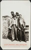 C. 1920S GROUP OF YOUNG BLACK FRIENDS VTG FOUND AMATEUR AFRICAN AMERICAN PHOTO
