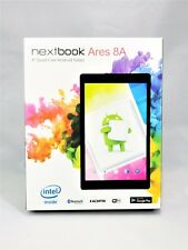 "NEW Nextbook Ares 8A - 16GB, 8"" Quad-Core Android Tablet  Black 4000 MAH"