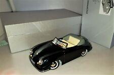 DISTLER 7500 Porsche 356 rare Porsche Version in schwarz Blechspielzeug Neu+Ovp