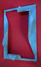 CORNICE DESIGN per Specchio o Foto FERRO BATTUTO cm 90 x 60  SCONTO 50% . 849
