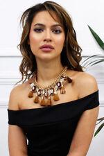 Rhinestone Chunky Costume Necklaces & Pendants