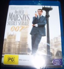 James Bond 007 On Her Majesty's Secret Service (Australia Region B) Blu-Ray NEW