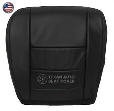 2007 Ford F250 F350 Lariat Super Duty Driver Bottom Perforated Seat Cover Black