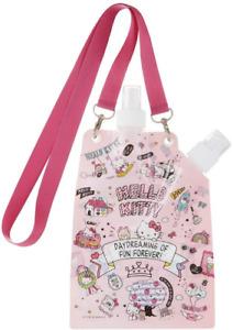 JAPAN Sanrio Hello Kitty Folding Portable Water Bottle 630mL Mist Shower Skater
