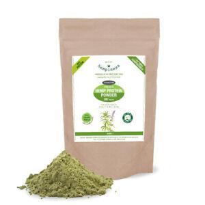 Hempiness Organic Premium Raw Hemp Protein Powder 500g | Vegan & Gluten Free