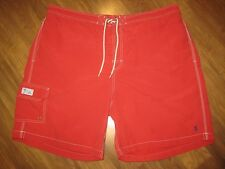 RALPH LAUREN POLO Red Pony Logo Mens 2XL BIG Swim suit trunks board shorts XXL