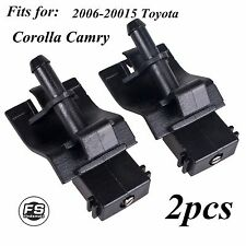 2x Windshield Wiper Spray Jet Washer Nozzle for 2006-20015 Toyota Corolla Camry