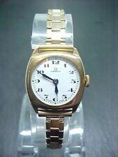 Antique 9ct gold Omega ladies 15 jewels wrist watch