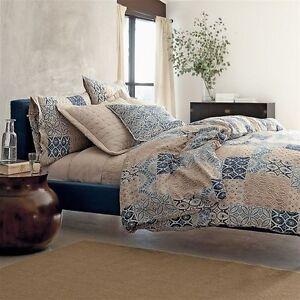The Company Store Duvet Cover Arcadia 100% Linen Multi Color