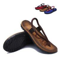 New Men Beach Sliders Casual Shoes Summer Flip Flops Flat Sandals Slippers Shoes