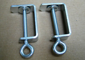 2 New Table Clamps for Singer/SilverReed knitting machine
