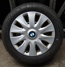 4 BMW Winterräder 3er F30 F31 BMW 205/60 R16 92H M+S ORIGINAL RADKAPPEN