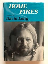 DAVID LONG  Home Fires Signed First Edition 1982 Short Story Collection #134181
