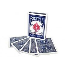 Blue Double Backed Gaffed Deck Bicycle Playing Cards - Make Your Own Card Tricks