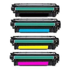 HP CE400X CE401A CE402A CE403A 507A TONER SET Laserjet M551DN M551N M551XH NEW