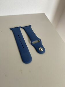 Navy Blue Apple Watch Strap Size Small