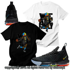 CUSTOM T SHIRT MATCHING STYLE OF LeBron James 16 I Promise NLB16 1-1-8