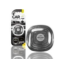 Aroma Loop Gel Vent Clip Car Air Fresheners Perfume France Black