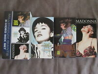 MADONNA Millennium Giants JAPAN NTSC 3xVHS VIDEO SET w/SLIP CASE WPVR-90030~2