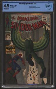Amazing Spider-Man #48 May 1967. CBCS 4.5 like CGC