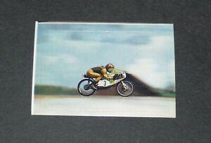 #214 THUROW KREIDLER 50CC FINLANDE IMATRA AUTO MOTO SPORT 1976 INTERIMAGE PANINI