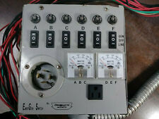 Emergen Switch 6 5000 Manual Generator Transfer Switch Panel Pre Owned Good