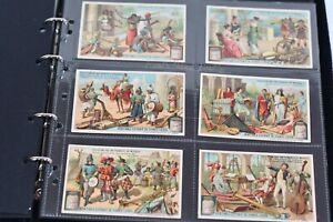 Liebig Cards S1008 Evolution of The Musical Instrument 1910 Full Set