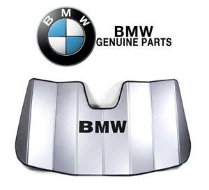 For BMW E90 E91 F34 323i 325i 328i 335i 3-Series Windshield Sunshade Genuine