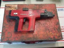 For Parts/Repair As Is! Hilti Dx 451 Powder Actuated Nail Gun With Case #Sm1001
