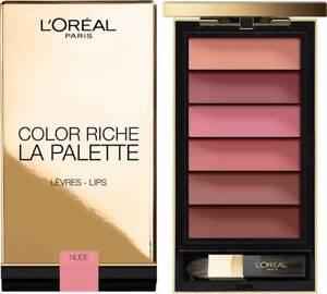 L'OREAL Color Riche La Palette Lips Nude and Red Choose Color