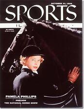 October 31, 1955 Pamela Phillips, Equestrian NO LABEL Newsstand 1