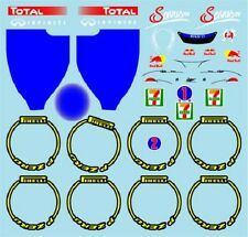 F1 DECALS MUSEUM COLLECTION D653 1/18 FOR RB7 JAPAN GP 2011