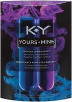 K-Y KY Yours and Mine Couples Lubricant