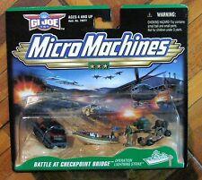 Micromachines G.I. Joe Battle At Check Point Bridge Mosc New Galoob
