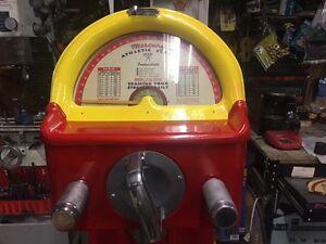 Vintage Strength Tester (back door)