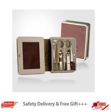 Three 777 Seven Travel nail clipper set (Total 6) Gold Color Kgear Korea Made