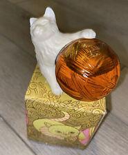 Vintage Avon Kitten Petite Sonnet Cologne Cat With Yarn Full Bottle 1.5oz