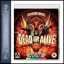 DEAD OR ALIVE TRILOGY - 3 MOVIE COLLECTION  **BRAND NEW BLU-RAY**