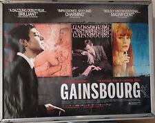 Cinema Poster: GAINSBOURG 2010 (Quad) Eric Elmosnino Lucy Gordon Laetitia Casta
