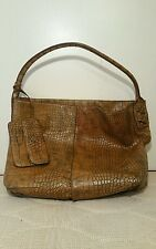 Simply Vera By Vera  Wang Snake Skin Large Size Tote/Handbag With Small Wallet