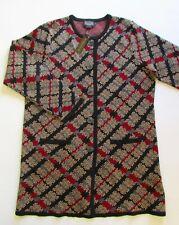 Pendleton Merino Wool Knit Cardigan Coat Sz XL NWT