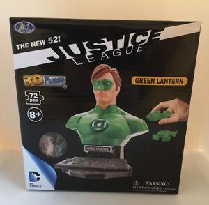 DC Comics Justice League GREEN LANTERN 3D Puzzle - 72 piece Jigsaw - GIFT NEW UK