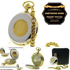 53 Mm Men Gift Rotating Coin C39 Authentic Deutsche Mark Coin Pocket Watch Big