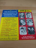 The RCA Victor Encyclopedia Of Recorded Jazz: Album 2 - Bei To Cla, 1956