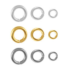 Sterling Silver Open Jump Rings for Jewellery Making * Different Platings